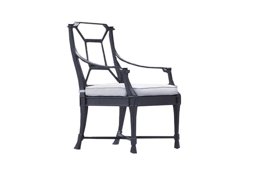 Zephyr Arm Chair Patio Collection Pioneer Family Pools