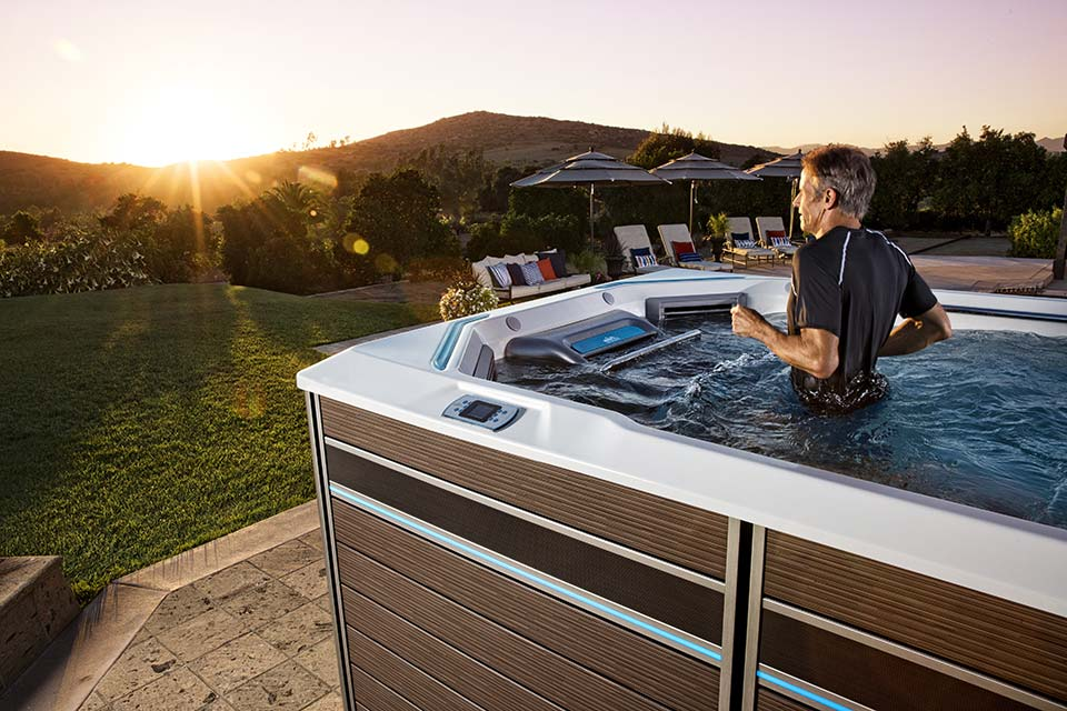 E550 Fitness System- Endless Pools- Swim Spas- Pioneer Family Pools - Gallery