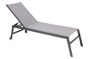 Bali Light Grey Chaise Lounge