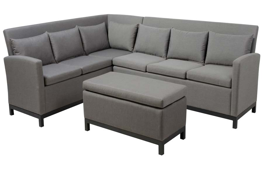 Three Piece Upholstered Sectional