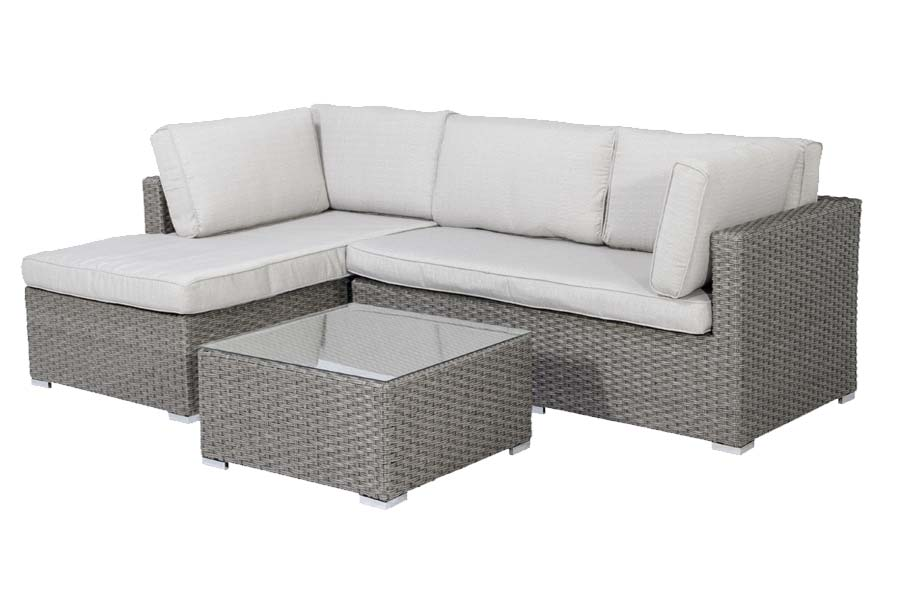 Three Piece Sectional Taupe/Beige