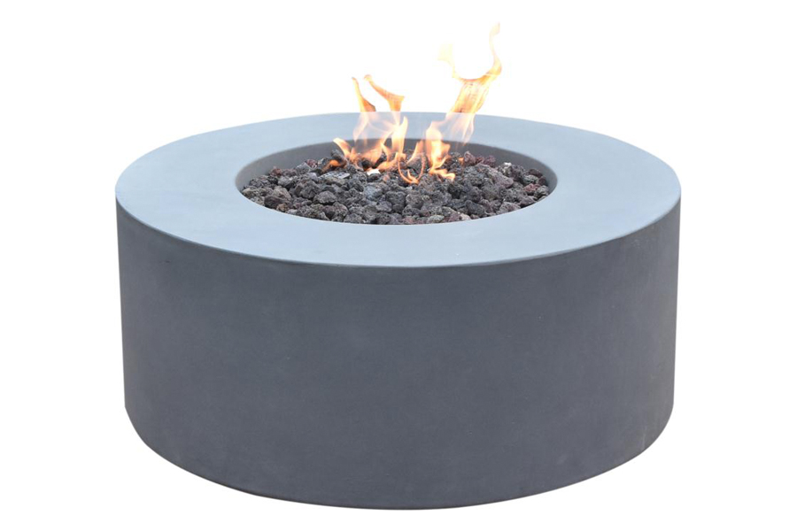 "Venice 34"" Round Fire Table"