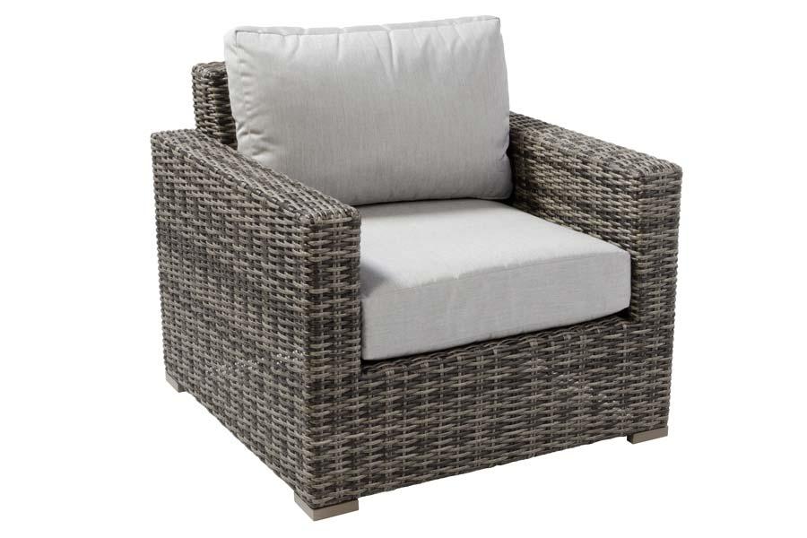 Club Chair Weathered Grey