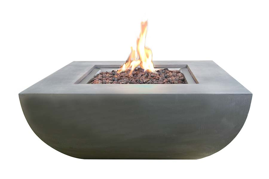 "34"" Square Westport Fire Table NG"