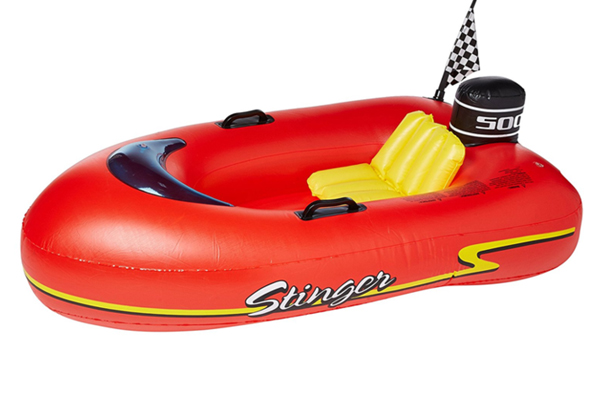 Speedboat Stinger pioneer family pools
