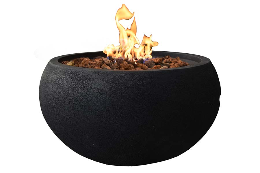 "27"" Round York Fire Bowl NG"