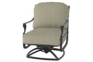 Grand Terrace Swivel Rocking Chair