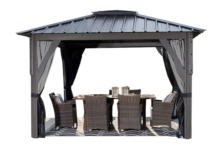 Cool Visscher Gazebos And Pergolas Collection Pioneer Family Pools Home Interior And Landscaping Synyenasavecom