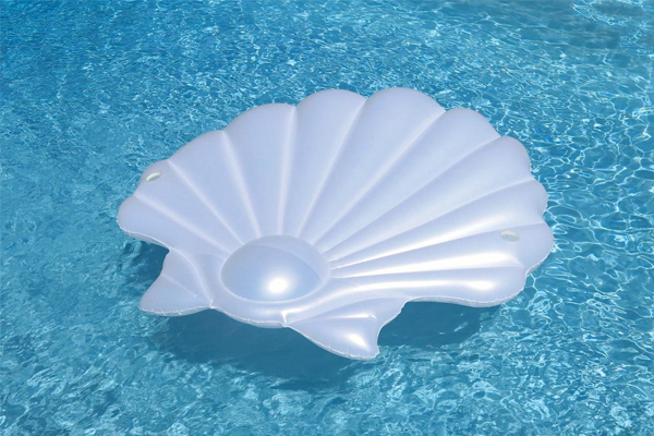 seashell lounge float pioneer family pools