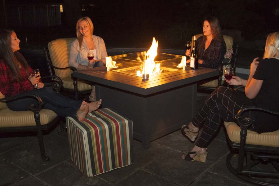 50″ X 32″ Serenity Fire Table Propane