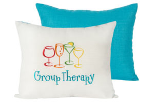 "14"" x 17"" Group Therapy Turquoise Pillow"
