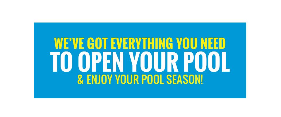 DYI Pool Opening