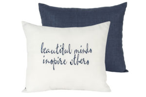 beautiful minds pillow