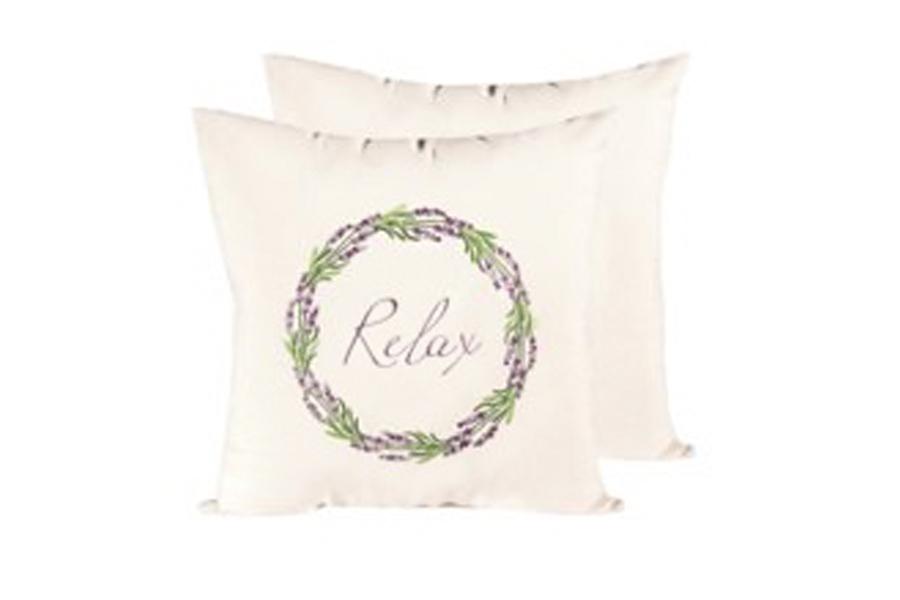 18″ x 18″ Lavender Relax Pillow