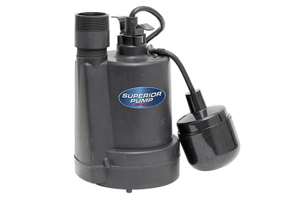 Superior Submersible Pump 1/5 HP