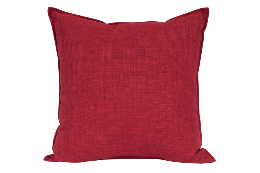 Square Red Pillow
