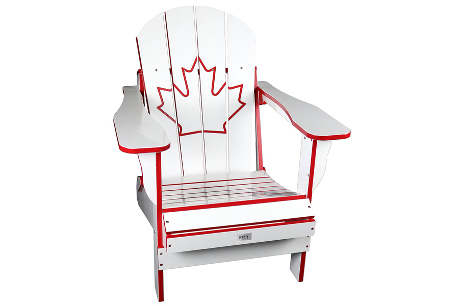 Folding Resin Canada Chair White