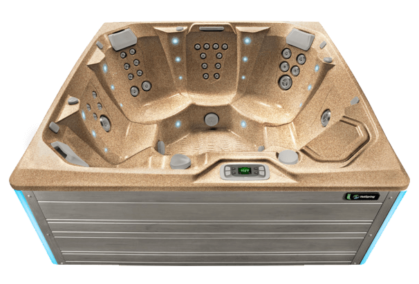 Flash Hot Tub- Limelight Collection- Hot Springs- Pioneer Family Pools