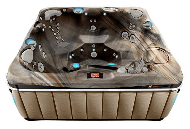 2016 Caldera Utopia Tahitian Hot Tub - Pioneer Family Pools