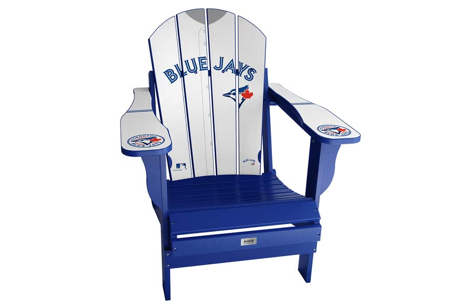 Blue Jays Sports Chair – White