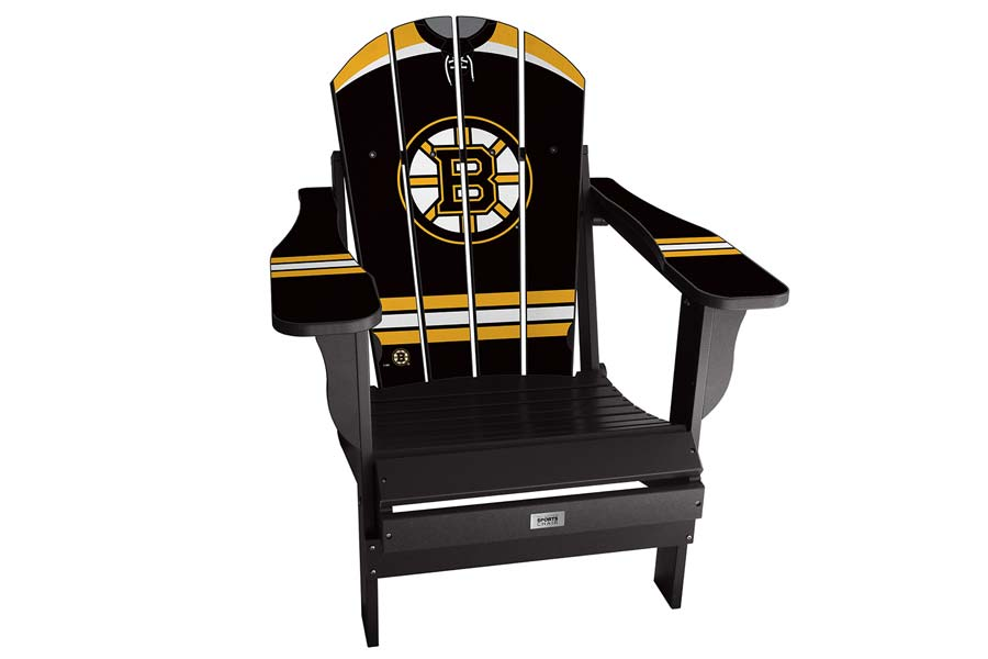 Boston Bruins Sports Chair – Black