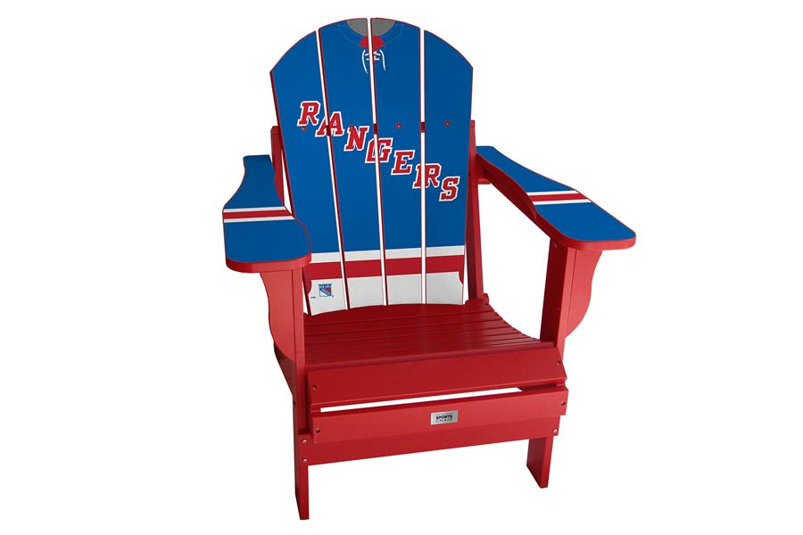 NY Rangers Sports Chair – Blue