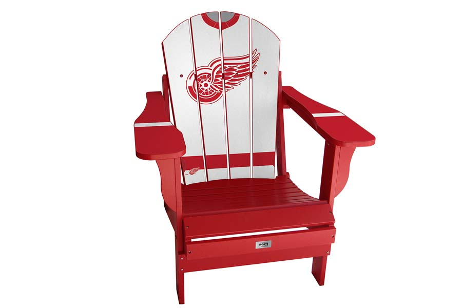 Detroit Red Wings Sports Chair – White