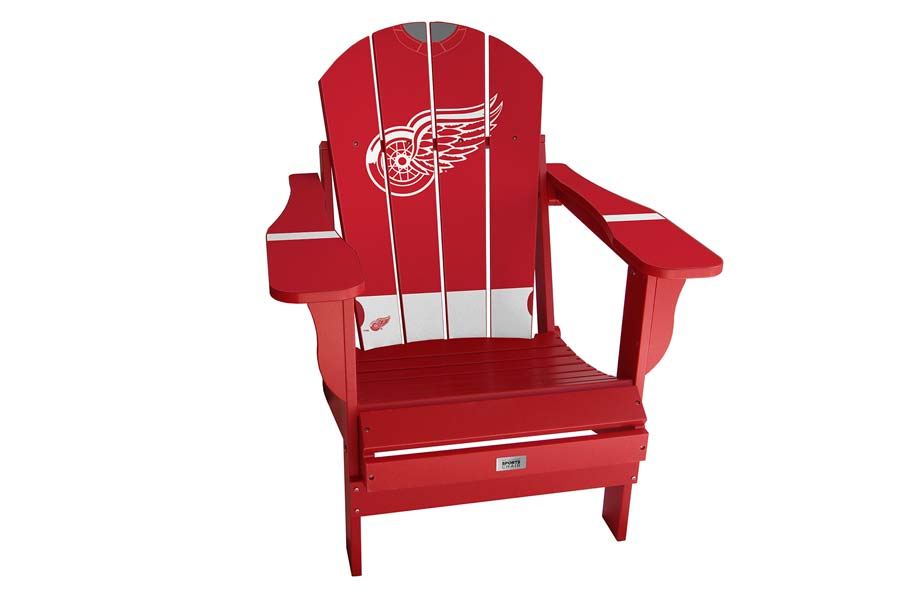 Detroit Red Wings Sports Chair – Red