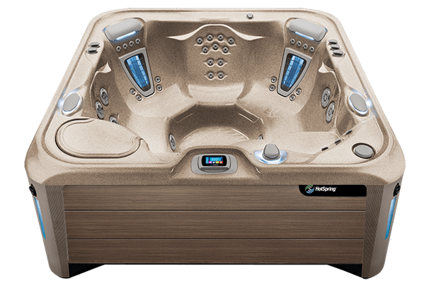 Vanguard Hot Tub - HotSpring Spas - Pioneer Family Pools