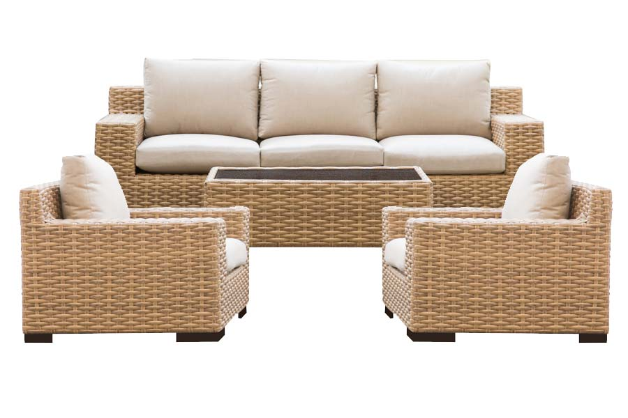 Four Piece Deep Seating Set
