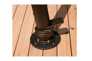 AKZ Base Wood Deck Mount