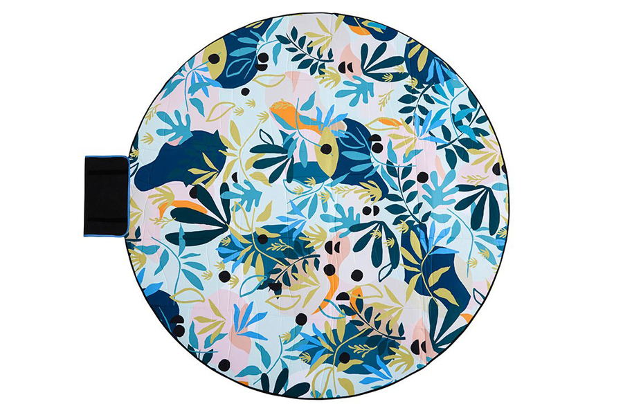 Eden 6′ Round Outdoor Mat