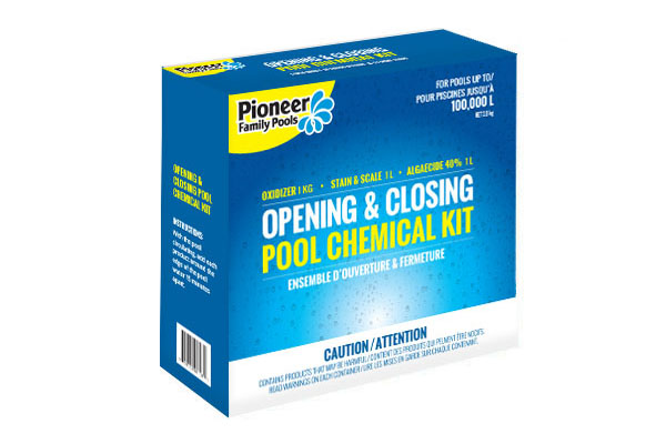 Pioneer Family Pools Chemical Kit