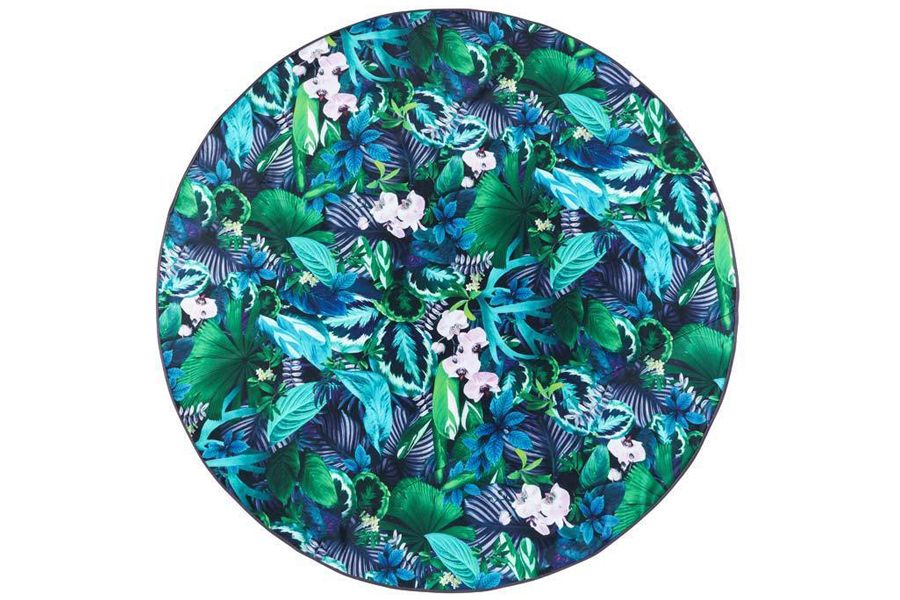 basil bangs botanica rug