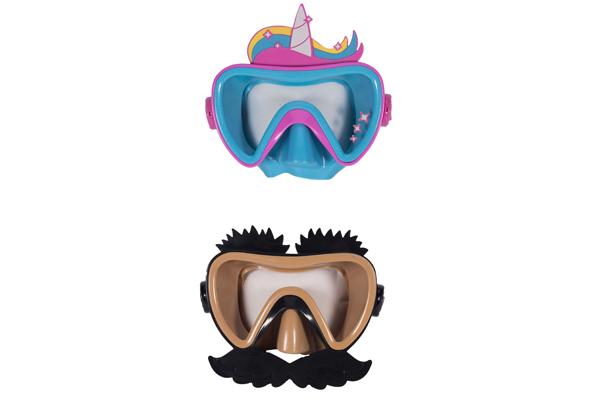 Funny Face Swim Mask
