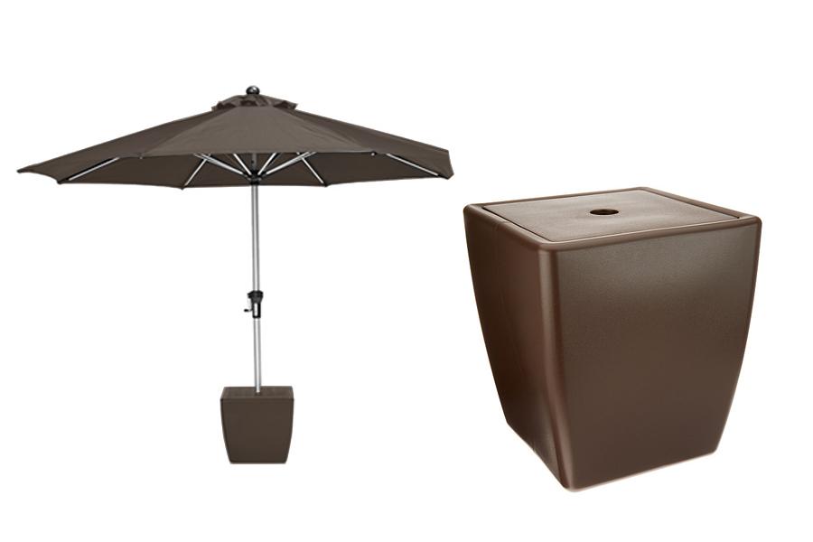 Sofun Umbrella Stand Brown