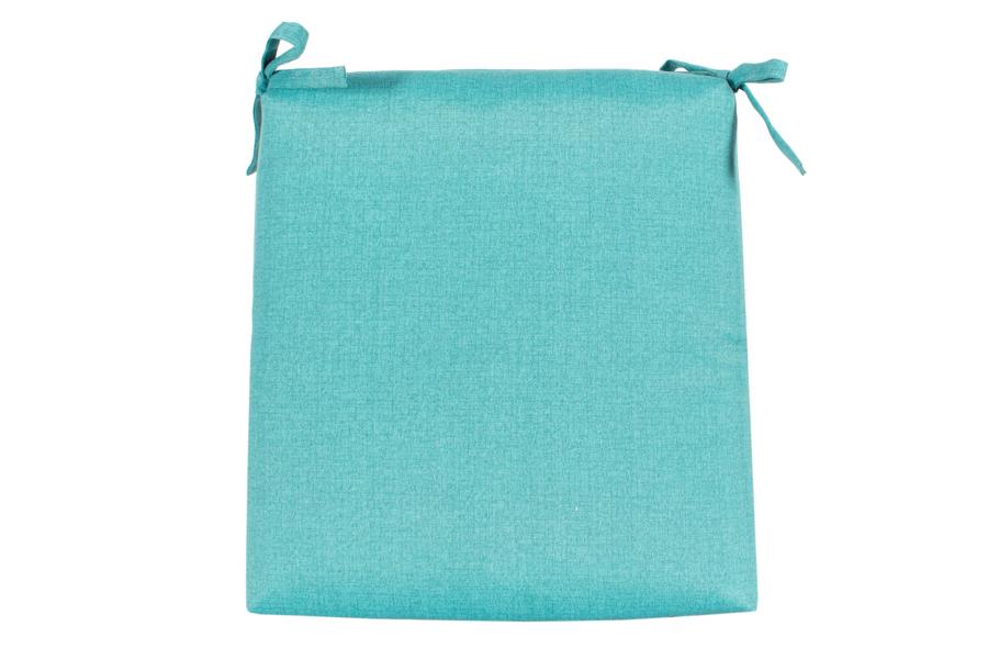"18"" x 18"" Seat Pad Turquoise"
