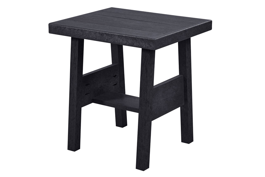 "23"" x 24"" End Table Black"