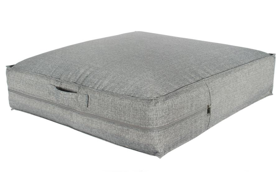 22″x22″ Poolside Cushion Ash Grey with Handle