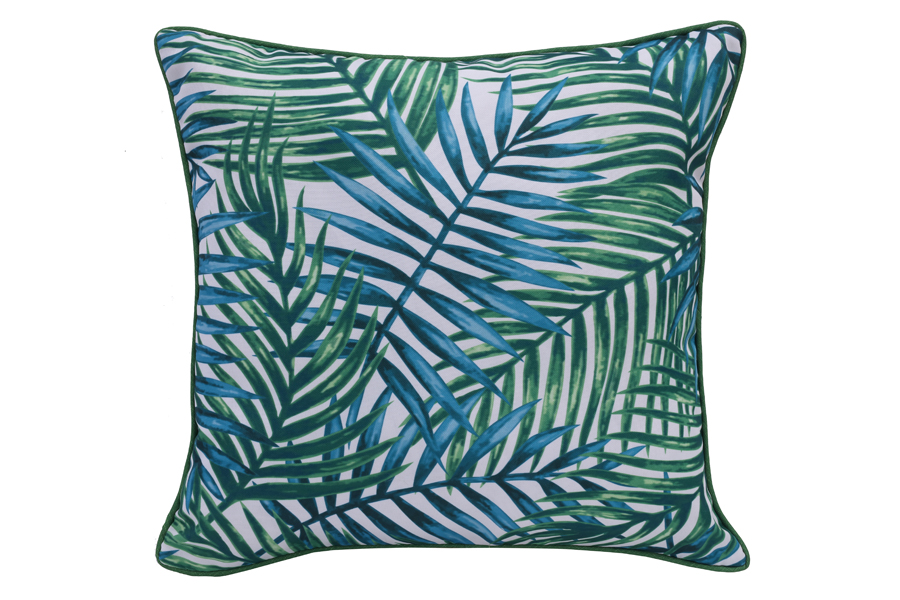 18″x18″ Tropical Palm Leaves