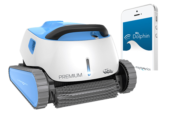 Dolphin Premium Robotic Cleaner With WIFI