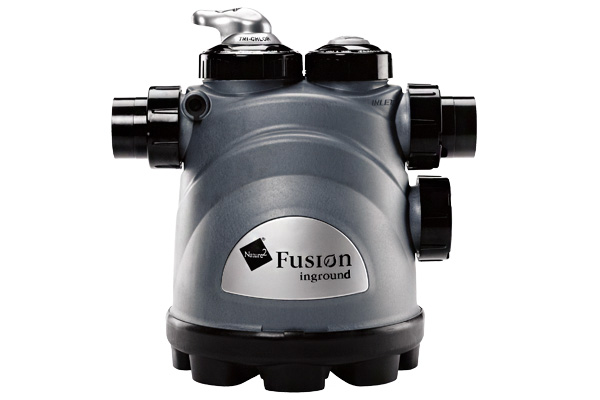 Fusion Inground Chlorine N2 Vessel W/ Cartridge