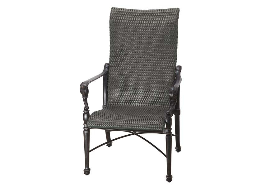 Woven High Back Dining Chair
