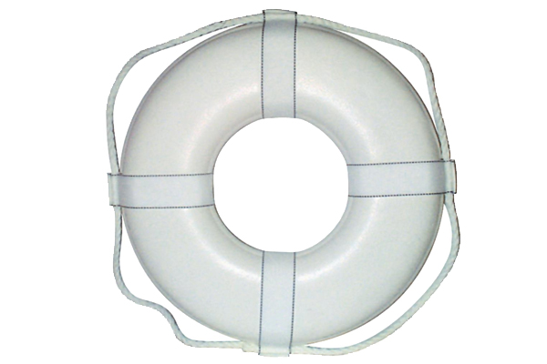 "Life Ring Buoy 24"" White"