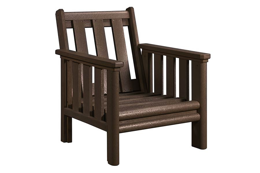 Lounge Chair Frame Chocolate