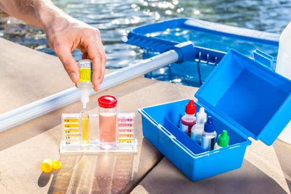 pool testing liquid test kit