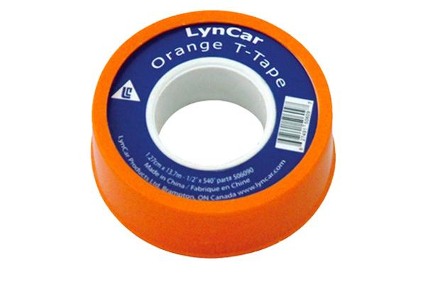 "Plumbers Tape Orange 1/2"" X 1296 CSA"