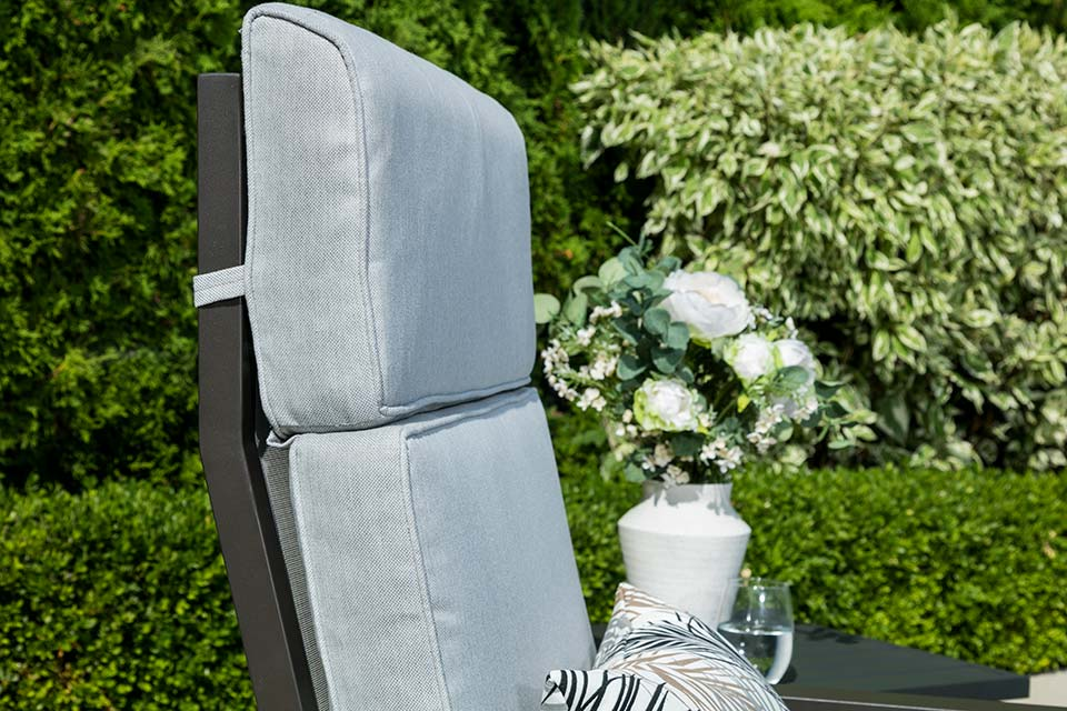Reclining Chair With Ottoman Bronze