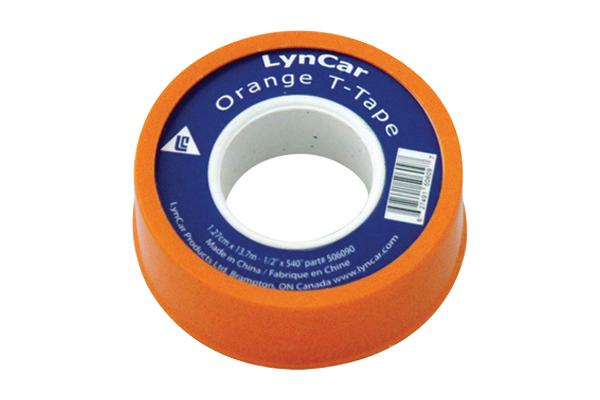 """Teflon Tape Orange 1/2"""" X 1296 CSA"""