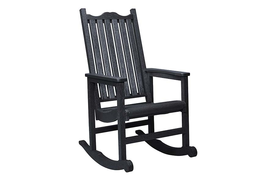 Porch Rocker Black